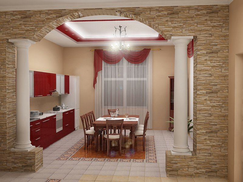 Кухни дизайн проекты смотреть