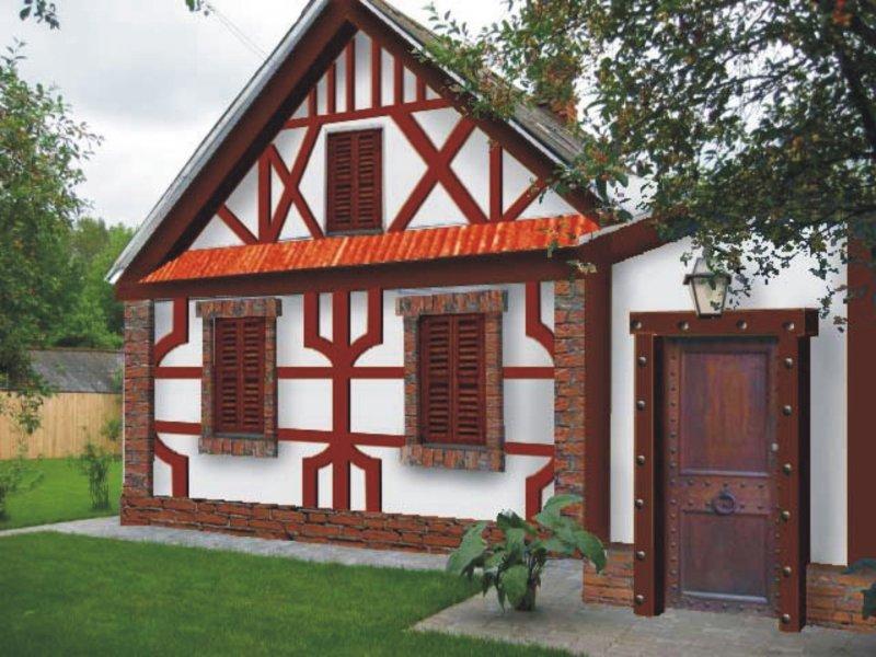 Фасад дома своим рукам